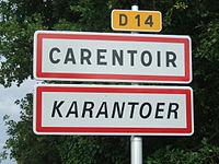 Panneau bilingue-carentoir.JPG
