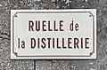 Panneau de rue - Ruelle de la distillerie (Messy, Seine-et-Marne, France).jpg