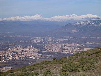 Sulmona - Image: Panorama Sulmona