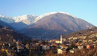 Cividate Camuno - Image: Panorama Cividate Camuno (Foto Luca Giarelli) 2