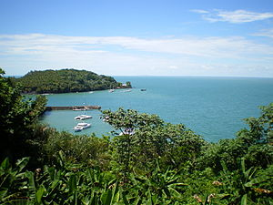 French Guiana - View from Île Royale