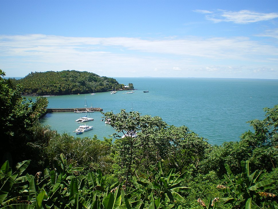Panorama depuis l'île Royale