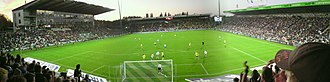 Odense Stadium - Image: Panorama view over Odense Stadion