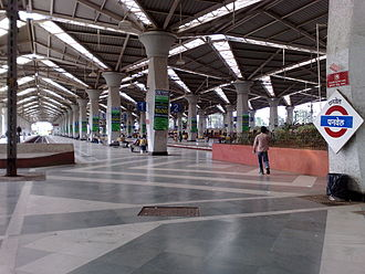 Panvel railway station - Panvel Suburban Terminus in 2013