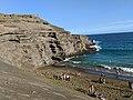 Papakolea green sand beach in Hawaii.jpg