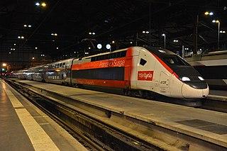 TGV Lyria High-speed rail service between France and Switzerland