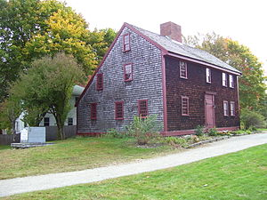 Reading, Massachusetts - The Parker Tavern, built 1694, is the oldest surviving building in Reading.  It was owned and operated by Ephraim Parker, who was the great-grandson of Thomas Parker, who was one of the founders of Reading and probably named the town.  The tavern is now a museum.
