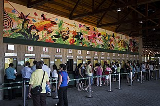 Iguazu Falls - Ticket office - Iguaçu National Park, Brazil