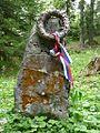 Partizanski spomenik nad Vodiško planino.jpg