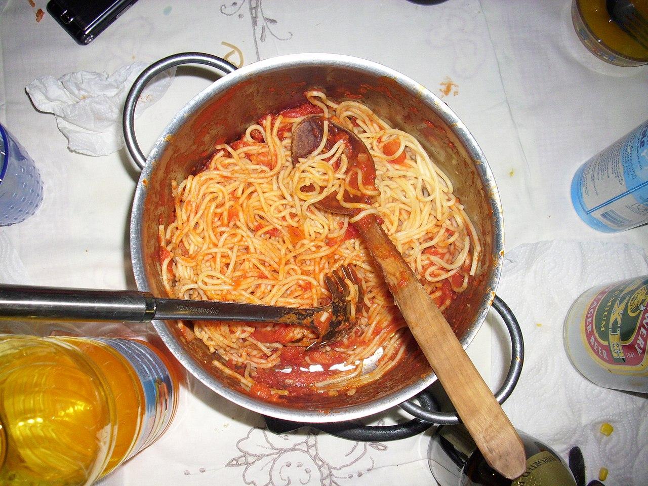 File:Pasta al Pomodoro 01.jpg - Wikimedia Commons