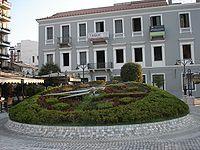 Το λουλούδινο ρολόι της Πάτρας στην πλατεία τριών συμμάχων