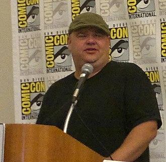 Paul Schrier - Schrier at San Diego Comic-Con International in 2011