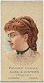 Pauline Lucca, from World's Beauties, Series 2 (N27) for Allen & Ginter Cigarettes MET DP838197.jpg