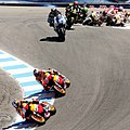 Pedrosa leading the pack 2012 Laguna Seca.jpg