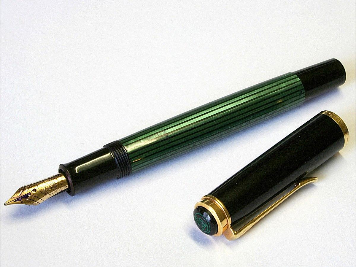 PELIKAN Fountain Pen Medium, Black (994004) - amazon.com