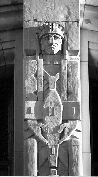 Penobscot Building - Image: Penobscot Brutal 2