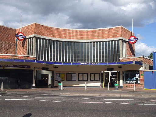 Perivale station building