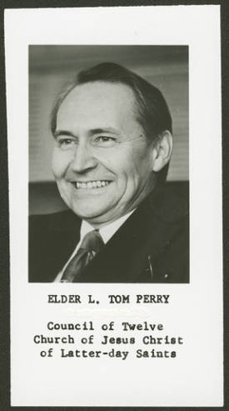 L. Tom Perry - Image: Perry 1980