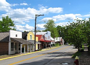 Perryville, Kentucky - Merchants' Row, Perryville