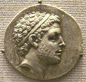 Perseus of Macedon - Tetradrachm of Perseus of Macedon. British Museum.