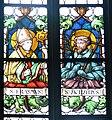 Pfarrkirche Weitnau Nothelferfenster Ersamus Achatius.jpg