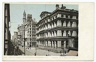 Benjamin Franklin (Boyle) - Image: Philadelphia Record Building 1904