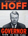 Philip H. Hoff for Vermont Governor poster 1962.jpg