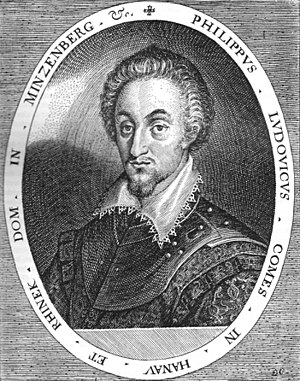 Philipp Ludwig II, Count of Hanau-Münzenberg - Philipp Ludwig II by Dominicus Custos