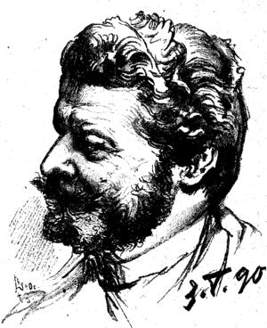 Philipp Grot Johann - Self-portrait