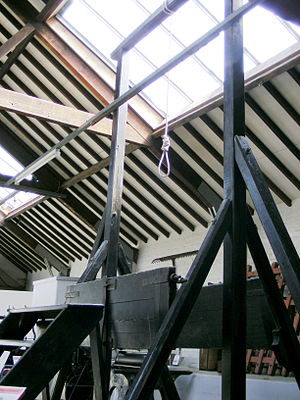 Gallows - The Gallows in Rutland County Museum