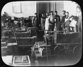 Photograph of several San Francisco Mint employees with carts full of ingots and ingot molds. - NARA - 296589.tif