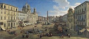 Caspar van Wittel - Piazza Navona, Rome