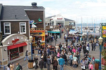 Cómo llegar a Pier 39 en transporte público - Sobre el lugar