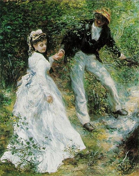 Datei:Pierre Auguste Renoir - La Promenade.jpg