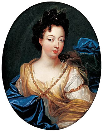 Charlotte Aglaé d'Orléans - Charlotte Aglaé by Pierre Gobert before her marriage