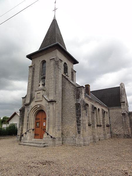 Pierremande (Aisne) église