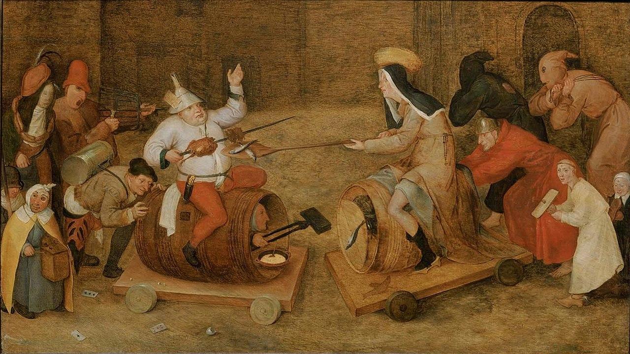 Type Of Car Oil >> File:Pieter Bruegel de Oude - Bestrijden tussen Carnaval en Vasten (Boston).jpg - Wikimedia Commons