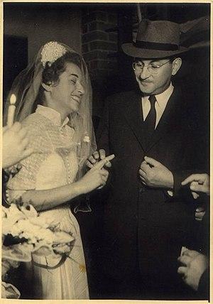 Marriage in Israel - Jewish wedding in Israel, early 1950s