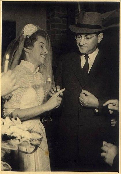 File:PikiWiki Israel 2709 wedding חתונה בשנות החמישים.jpg