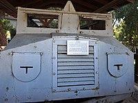 PikiWiki Israel 53122 the reconstructed armored vehicle at hanita.jpg