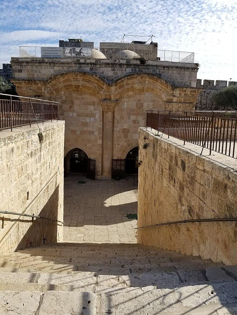 שער הרחמים הר הבית ירושלים