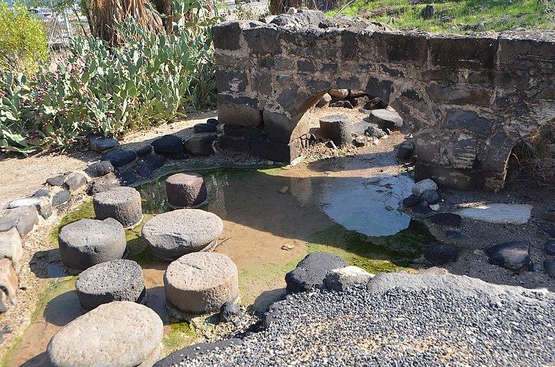 המרחצאות הרומיים בחמי טבריה