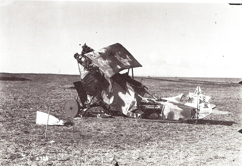 מטוס שהתרסק בשדה התעופה עפולה 1918