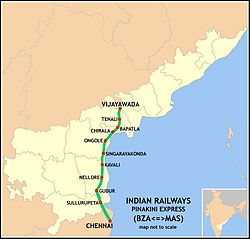 Pinakini Express Route map.jpg