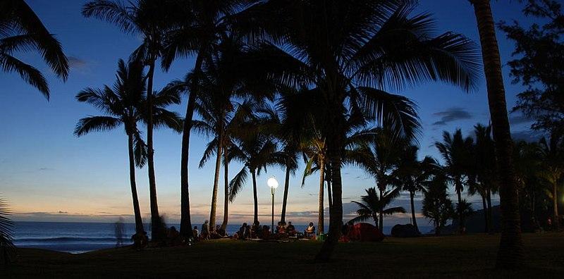 Quoi voir à l'île de la Réunion - la plage de Grande Anse dans la commune de Petite-île