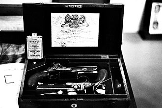 Duelling pistol - Image: Pistolets de duel Negative 0 02 02(1)
