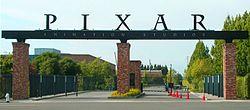 Pixar's studio lot in Emeryville.