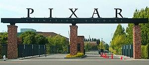 Pixar's studio lot in Emeryville.