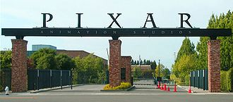 Pete Docter - The front gate to Pixar Studios