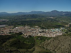 Skyline of Pizarra